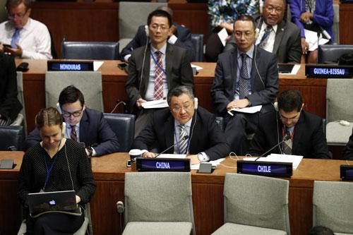 中国代表在联大呼吁维护多边主义,建设持久和平、普遍安全的世界
