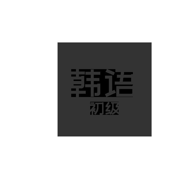 韩语初级 1对1课程【48课时】